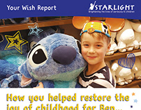 Starlight Newsletter design