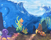 Mural for Harbourfront Centre, Toronto