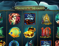"Online Slot Game ""Secrets of Mermaid"""