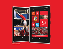 Windows Phone / Nokia 920 - A5 Print Ad - LIVE WORK