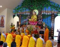 Bodhi Tree Mural