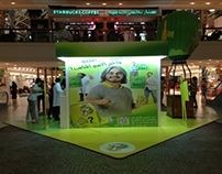 7Up Activation Stand