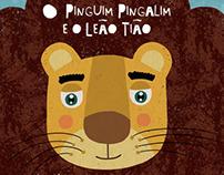 O pinguim Pingalim e o leão Tião