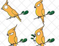Parrot Emoticons