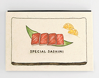 Special Sashimi : Illustration book