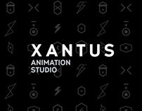 Xantus animation studio - rebranding