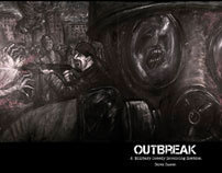 Outbreak: A Military Comedy Involving Zombies. (comic)