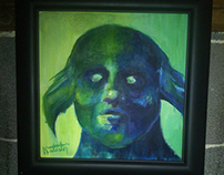 Legendary Monster Portrait ~ Acrylic
