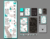 Manster,Exhibition Identity Design |展覽形象規劃