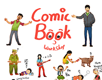 Poster for A Comic Book Workshop
