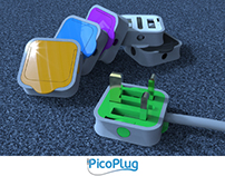 PicoPlug - innovative redesign of UK wall plug (2013)