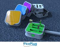 PicoPlug - innovative redesign of UK wall plug (2013)