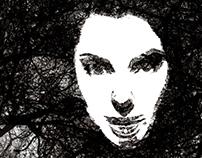 Dark side of woman
