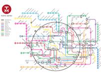 Tokyo Metro Rebrand - Map + App