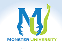 Monsters Inc. Logo Concepts