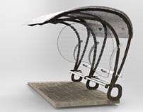 Bus Shelter Design Entry - Won IIA Award