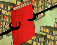 "animation for ""new on the bookshelf"""