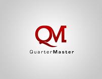 Quarter Master Logo Design