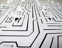 Maze Hand-rendered Typeface