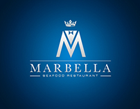 Marbella Restaurant Logo Design