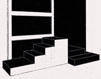 set design sketches - for Galvan