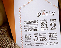 Willoughby Fall Barn Party