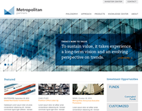Metropolitan Partners Website