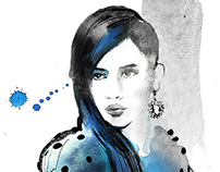 Redken Fashion Illustration