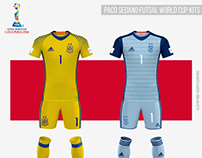 Spain Futsal Team Kits | Futsal World Cup Colombia 2016