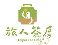 旅人茶房LOGO(2011)