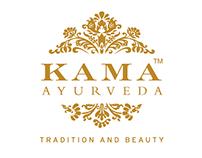 KAMA Ayurveda Web Banners