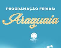 Posts para redes socias da TV Record Goiás