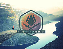 Piltdown Outdoor Co. | Logo Design