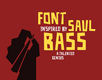 Saul Bass Font