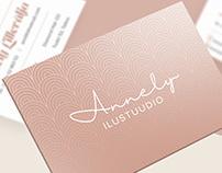 Annely Ilustuudio 2019 (branding)