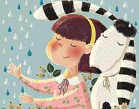 Children's story book illustration