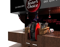 COFFEE STATION, Degustador Taster´s Choice
