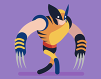 Wolverine Walk Cycle