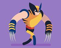 Wolverine Walk Cycle