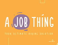 A Job Thing Brand Identity & Product