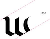 FLAME BLACKLETTER - typeface