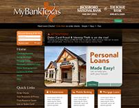 MyBank Texas Logo & Site