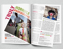 Magazine Spread: Truly Horrible Photographs