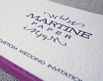 Martine Paper Business Cards