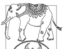 Colouring Book Illustrations