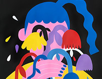 Gloomy Girls - An Illustration Series