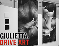 "The Drive Art ""I am Giulietta."""