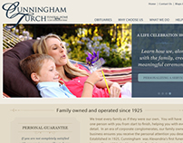Cunningham Turch Funeral Home Website Design