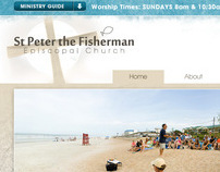 St. Peter Episcopal Web Design