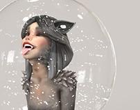 Christmas Wolfgirl